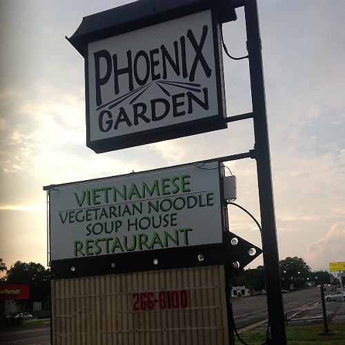 Phoenix Garden Vegetarian Restaurant Richmond Va