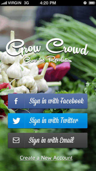 Grow Crowd App