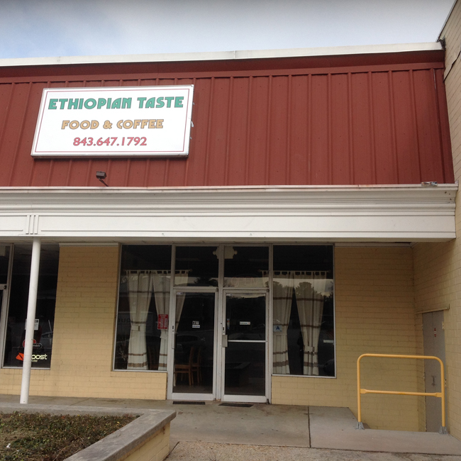 Ethiopian Taste Exterior Ethiopian Taste Food & Coffee Brings Big Flavors To Charleston!