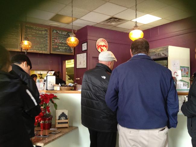 Order at the Counter at Mooney's Mediterranean Café