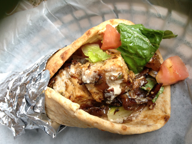 Mooney's Tempeh Pita