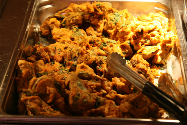 Mela Mixed Vegetable Pakora Mela Indian Restaurant, Asheville, NC   Indian Food Just Doesn't Get Much Better Than This!