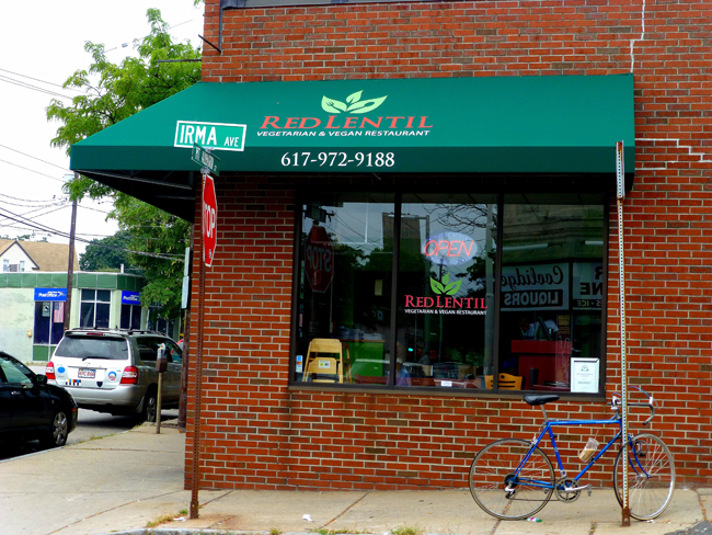 Red Lentil Exterior Red Lentil   Eclectic Vegan & Vegetarian Food At Its Best In Watertown, MA!