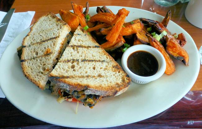 Red Lentil Reuben Sandwich