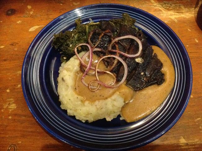 Grilled Portobello Plate - $11