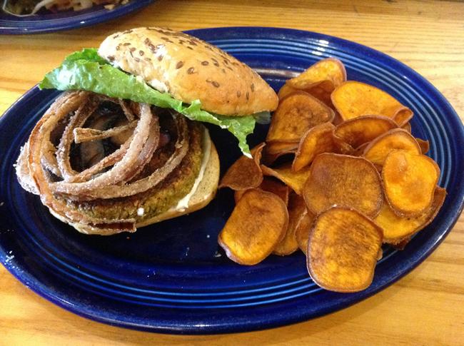 Veggie Burger Special - $10