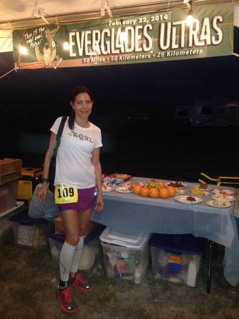 Andrea Medalia at Food Station