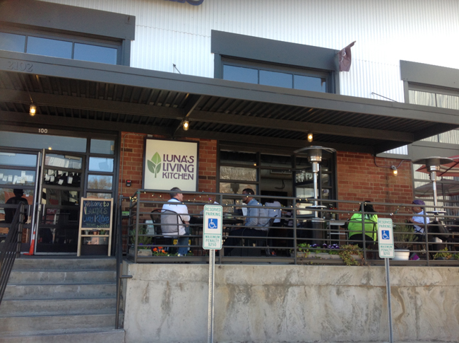 Lunas Exterior Lunas Living Kitchen, Illuminating Charlotte with Raw, Beautiful, Plant Based Cuisine!