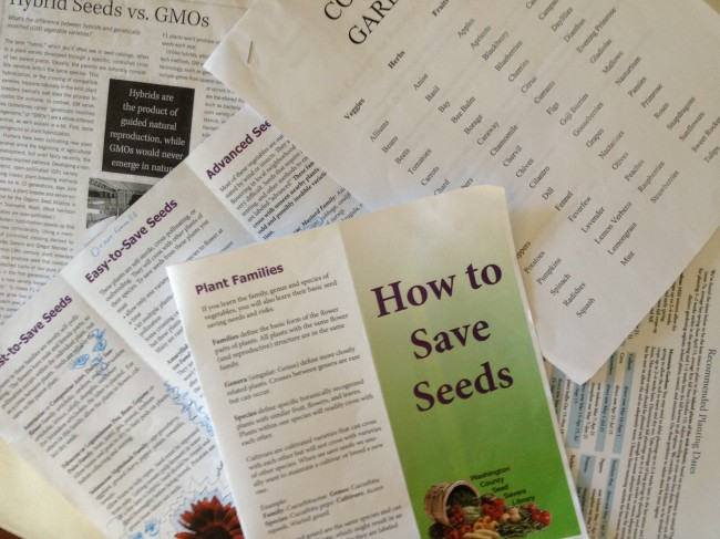Veggin' Out in the Garden with the WCPL Seed Savers Library
