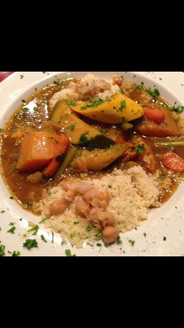 Dinner Vegetable Coucous