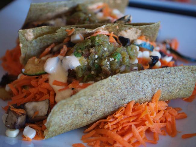 Portobello Soft Tacos