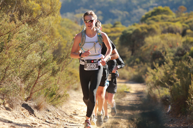 50km trail run in 2013 copy Kate Strong    Super charged World Champion Triathlete, Powered By Plants!