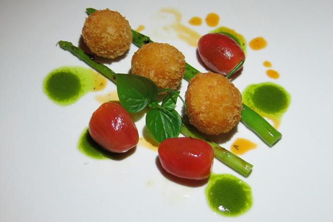 VFQ 11 Vegan Arancini at six senses Vegan Food Quest   Veggin Out and About In Southeast Asia!