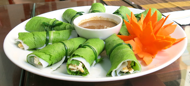 VFQ 2 Spring rolls Vegan Food Quest   Veggin Out and About In Southeast Asia!