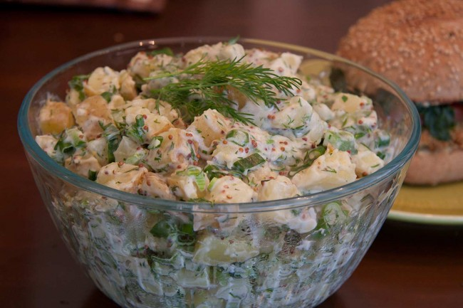 Warm Potato-Dill Salad