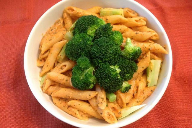 Creamy Penne Pasta With Broccoli