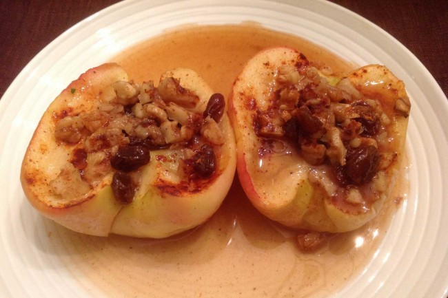 Baked Or Microwaved Apples
