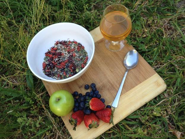 Breakfast Muesli The Super Charged Athlete: Finding My Vegan Feet
