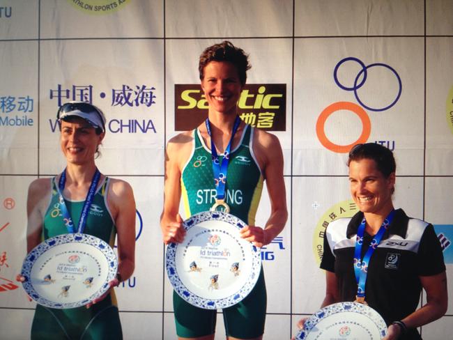 ITU world champion2 The Super Charged Athlete: Finding My Vegan Feet