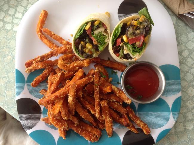 FireFly Fare California Wrap FireFly Fare Serves It Up Vegan In Roanoke, VA