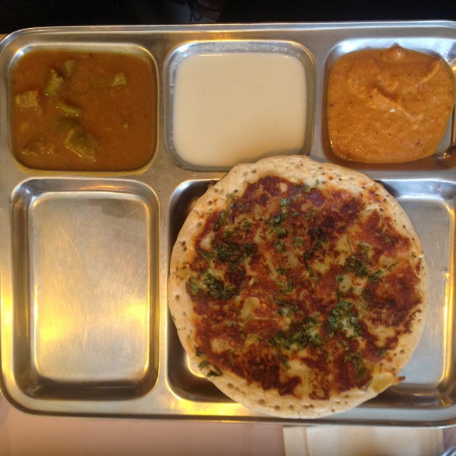 How To Make Masala Utthappam By Dosa Garden Indo/Sri Lanken Restaurant. 323  Viclory Blvd Staten Island ...