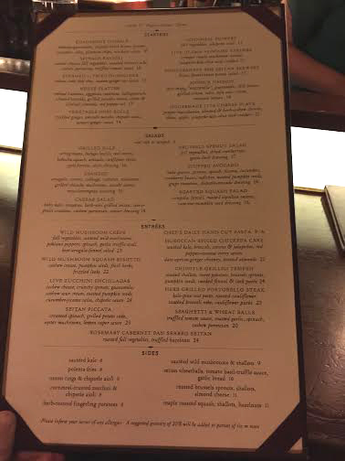 Candle 79 menu Spotlighting Candle 79    Plant Based Dining At Its Finest!
