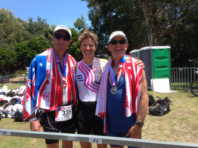 Kate Strong and Medal Winners 3
