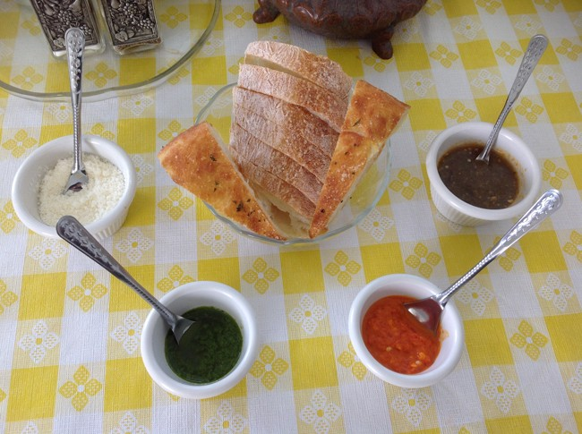 Mouthwatering artisan breads and signature sauces