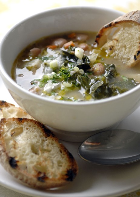 Tuscan Soup 462x650 LA CUCINA Italian Kitchen, Milanos Finest In The Most Unlikely Place