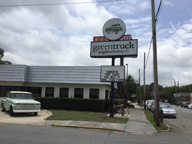 Green Truck Exterior