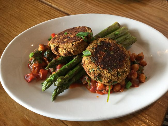 Oven Roasted Chickpea Cakes